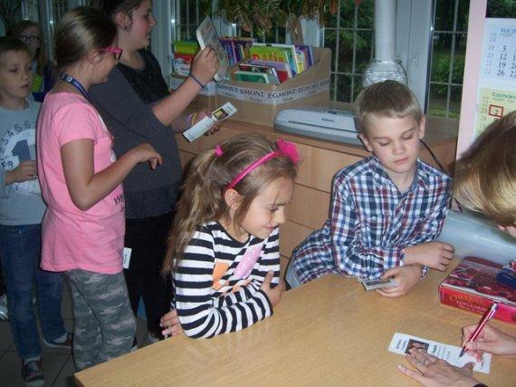 Literatura za makulaturę- spotkanie z p. Ewą Nowak